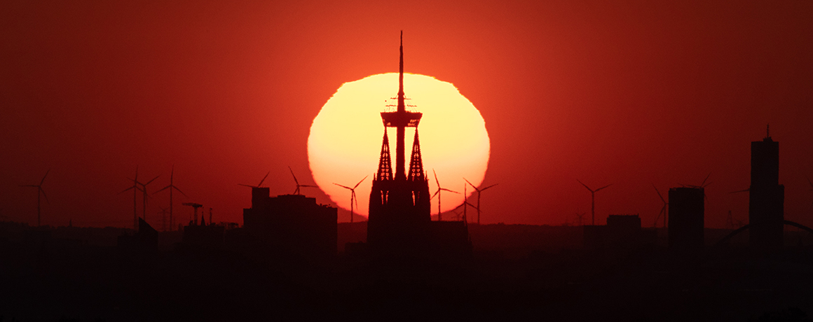 Poster Highlight! <br> Cologne Sunset - der perfekte Moment