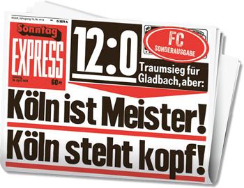 Express Köln Zeitung Heute
